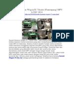 Mobilku.org - Suzuki Karimun Wagon R 7 Seater (Penumpang) MPV LCGC 2014