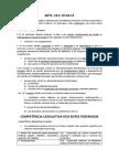 Direito Constitucional - Arts. 18 e 19