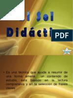 1 El Sol Didactico