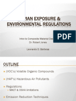 Human Exposure and Environmental Regulations of FRCs
