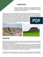 Ciudades Azteca Maya Inca