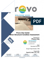 Provo City Center Minor Structural Condition Assessment