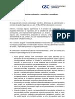 Sugerencias Contratación Propiedad Horizontal Proveedores