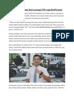 Kala Putra Anak Dari Seorang TNI Yang BerPrestasi