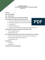 Sistematika Laporan Akhir Div.sdm 2018