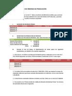(156326460) Ejercicio de Ordenes de Produccion Muebles Finos