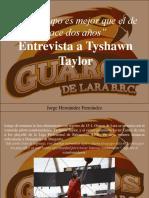 Jorge Hernández Fernández - Entrevista a Tyshawn Taylor