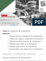 01 Conferencia 1. Introducción Localización de Instalaciones (1)