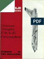 [Aircraft Profile 090] - Chance-Vought F8 a-E Crusader