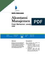 Modul Akuntansi Manajemen [TM3]