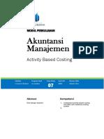Modul Akuntansi Manajemen [TM7]