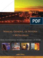 Manual General de Mineria y Metalurgia