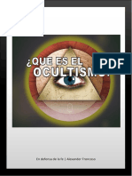 ¿Que Es El Ocultismo?
