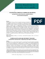 Texto 01 - COSTA - 2012 - Currículo e Ensino de Geografia