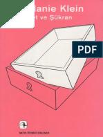 1840 Haset Ve Shukran Melanie Klein 2011 89s