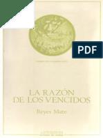 Reyes Mate, Manuel - La Razón de Los Vencidos