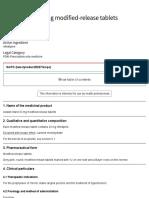 Adalat Retard 20 Mg Modified-release Tablets - Summary of Product Characteristics (SmPC) - (EMC)