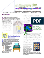 1 EDUC 422 Newsletter