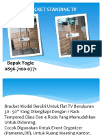 WA 0818-0927-9222   Bracket TV Jakarta, Bracket Tv Tabung