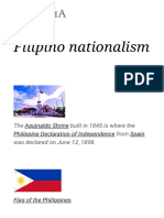Filipino Nationalism - Wikipedia