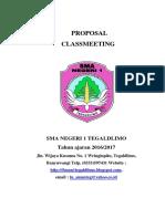 Proposal Class Meeting
