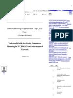 technicalguideforradioparameterplanninginwcdmanewlyconstruct-140902074158-phpapp01