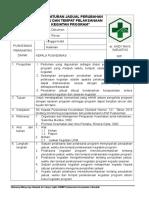 4.2.3 EP 6 SOP Pengaturan Jadual Perubahan Waktu Dan Tempat Pelaksanaan Kegiatan Program Rev 01 ( OK )