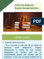 Concepto de Derecho Copia
