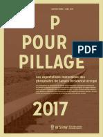 P pour Pillage - 2017