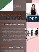 Advancing Women's Leadership