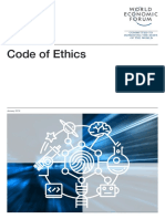 WEF Code of Ethics