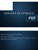 Disease of the Stomach