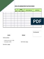 Ficha de Control de Elaboración de Platos de Riesgo