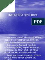 Pneumonia Din Gripa