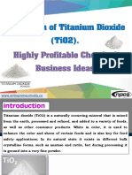 Production of Titanium Dioxide (TiO2)