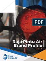 Raja Pintu Air Profile 2017