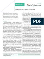 Annals of Surgery and Perioperative Care