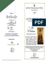 2018 - 27 July -Matlit- St Panteleimon the Unmercenary