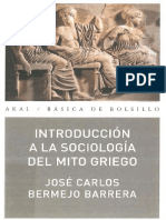 Bermejo Barrera, José Carlos - Introducción a la sociología del mito griego.pdf