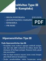 Materi Hipersensitivitas Tipe III