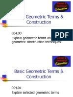 Unit D Geometric Construction Powerpoint