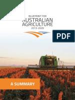 Blueprint for Australian Agriculture Summary - LR