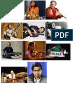 Famous Indian MusiciANS