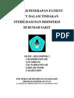 11. Makalah Penerapan Patient Safety Dalam Tindakan Sterilisasi Dan Disinfeksi Di Rumah Sakit