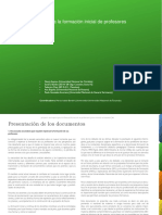 Proyecto de Mejora Para La Formación Inicial de Profesores Del Nivel Secundario- HISTORIA