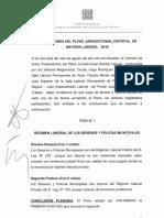 Pleno Jurisdiccional Distrital Laboral-piura
