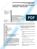 NBR-5440-1999 Transformadores para Redes Aereas de Distribuicao Padronizacao.pdf