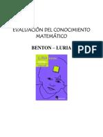 Test Benton y Luria
