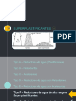 SUPERPLASTIFICANTES