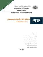 Fundamentos Del Comportamiento Individual (Modullo II) UNELLEZ